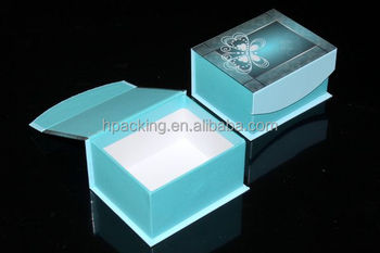 Satin Lined Gift Boxes With Clear Lid / Clear Pvc Gift Box