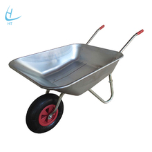 Loading weight construction tools heavy duty wheelbarrow