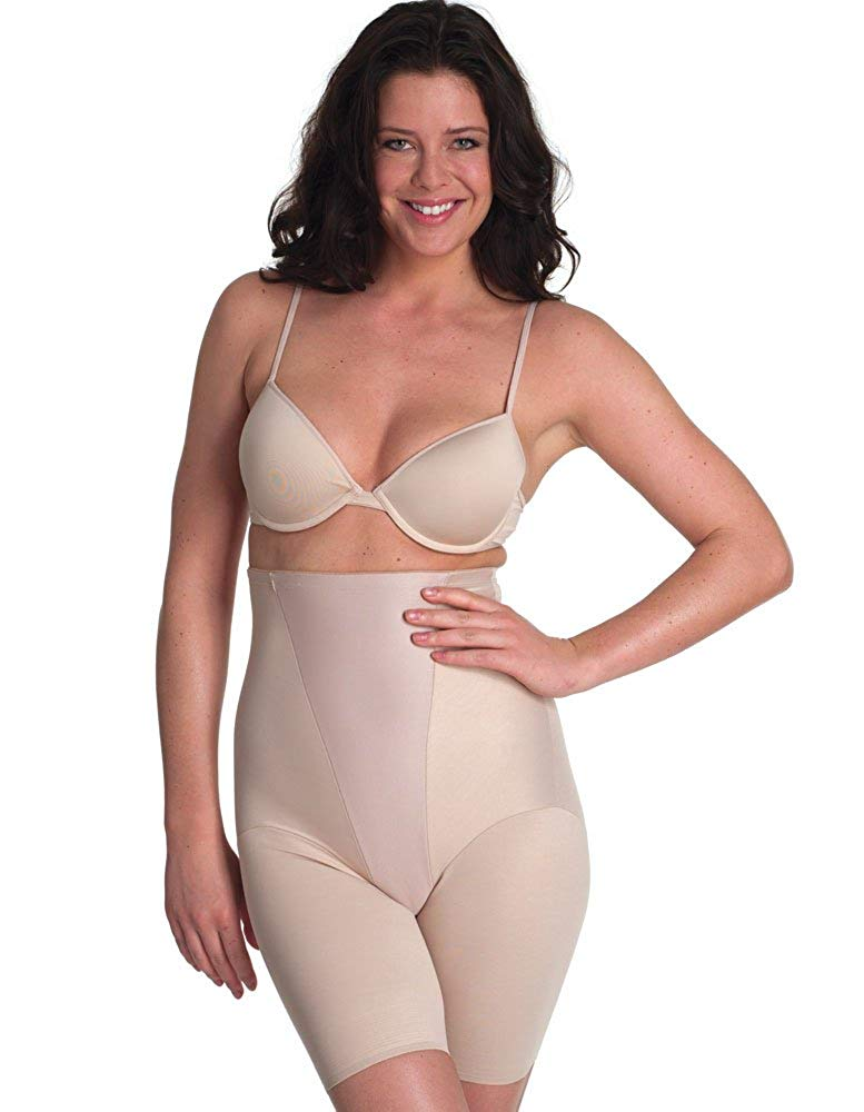 be2437a390 Get Quotations · Miraclesuit Shapewear New Classic s Nude Hi-Waist Thigh  Slimmer 2799
