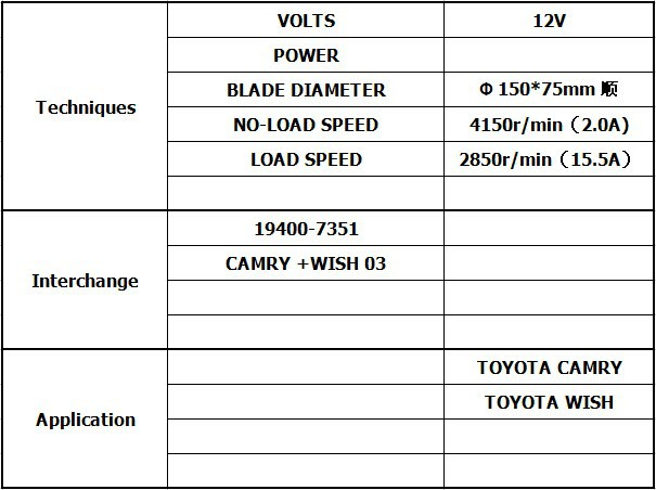 High Quality Auto Blower Motor For Toyota Camry With Wholesale And Retail  194000-7351 - Buy Blower Fan Motor,Blower Motor Resistor For Toyota Camry /