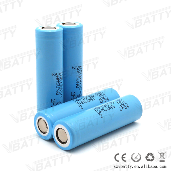 Malaysia mechanical mod vape battery inr18650-25r 2500mah 3.7v 18650 25r li-ion rechargeable battery