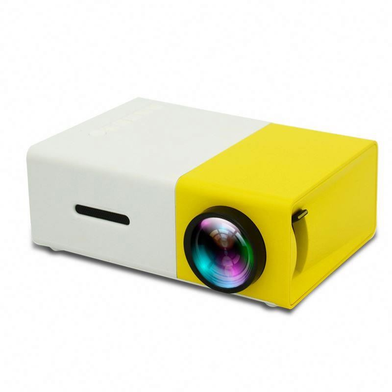 Mini projector yg300 600 lumens 1080P Home Theater outdoor Projector DLP 4K mobile phone proyector