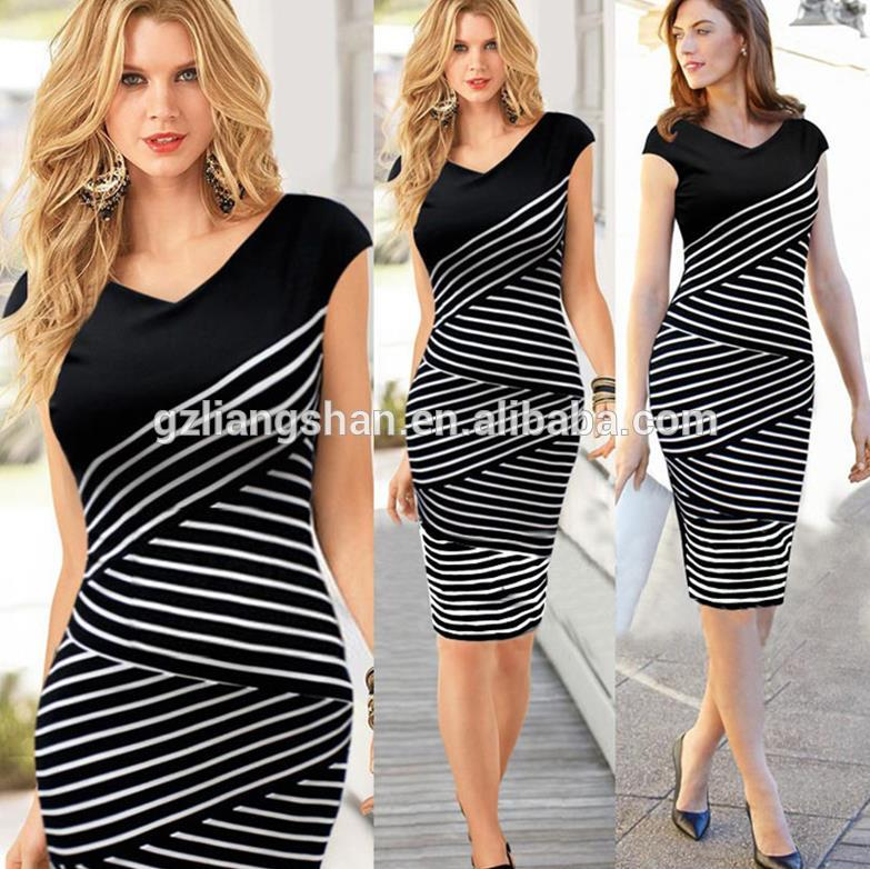 Latest Formal Dress Pattern New Fashion Ladies Dress Sexy Women Enchanting Formal Dress Patterns