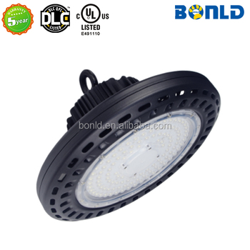 UL Listed E491110 LED UFO High Bay for warehouse gym supermarket showroom