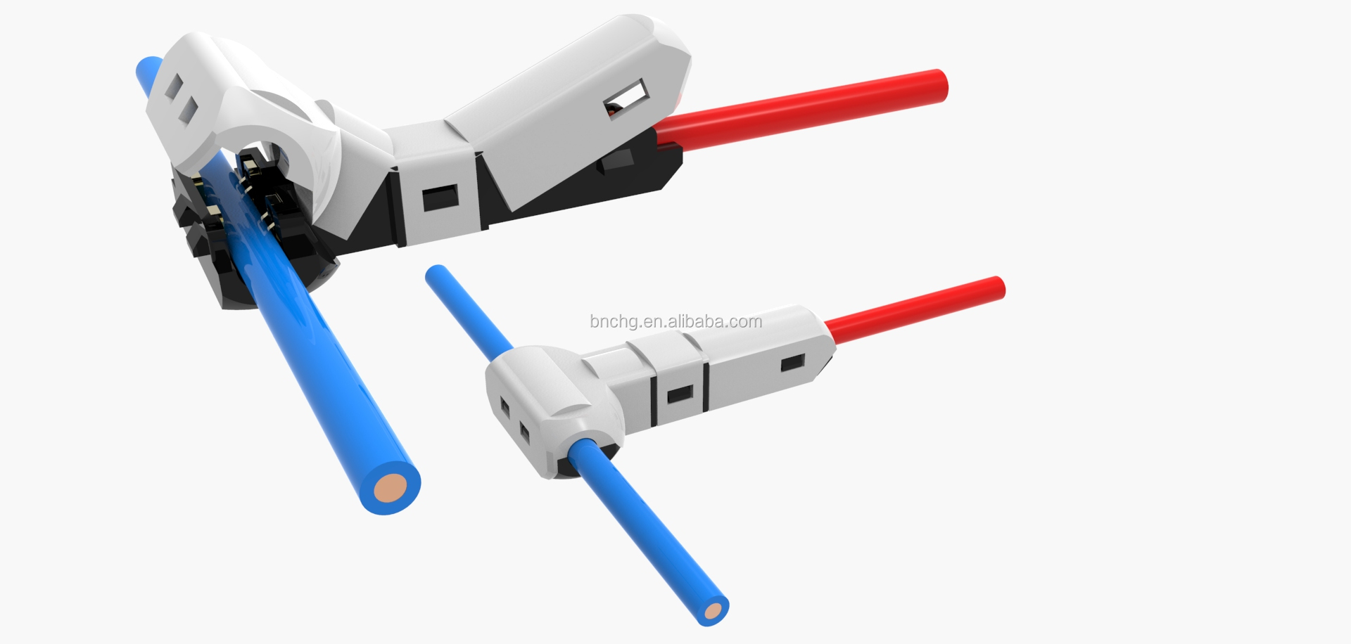 Fine Newest Fast Connect Electrical Wire Terminal Connectors T Shape Wiring Digital Resources Sapredefiancerspsorg