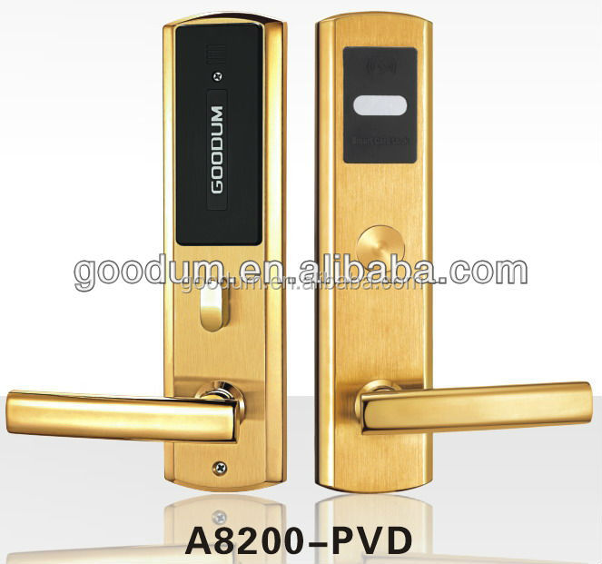 2016 Outdoor standardalone luxurious electronic hotel lock