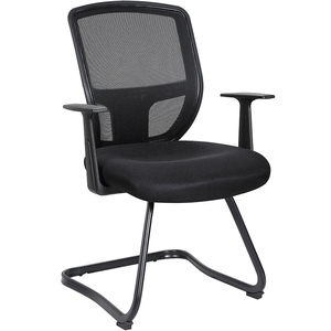 Mid back powder coated frame mesh visitor office meeting conference chair for sale