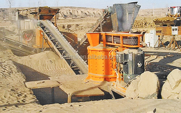Vertical Shaft Compound Crusher For Stone Coal Pulverizer Machine Price