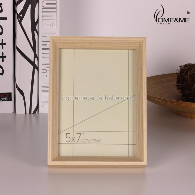 Mini Desktop Photo Frame / Natural Wood Shadow Box Frames Cheap ...