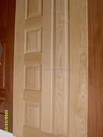 Wood Veneer HDF MDF Laminate Molded Door Skin