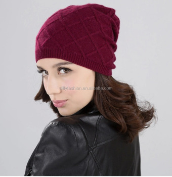7aeee8edfb69b wholesale cashmere winter hats knit 100% cashmere beanie