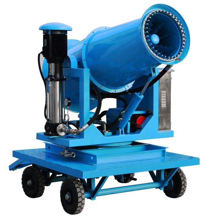 China supply fog cannon dust control systems security water mist machine