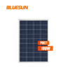Boat 100W poly solar panel charging 12V battery for home use