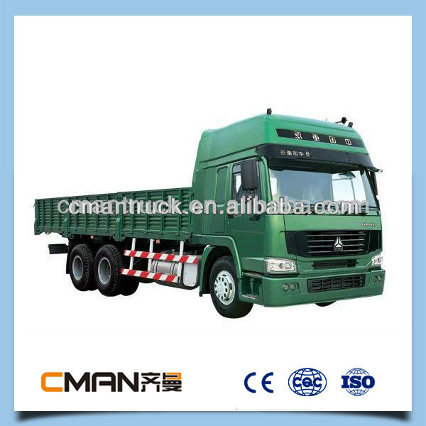 Large payload sinotruk 6x4 cargo truck at low price