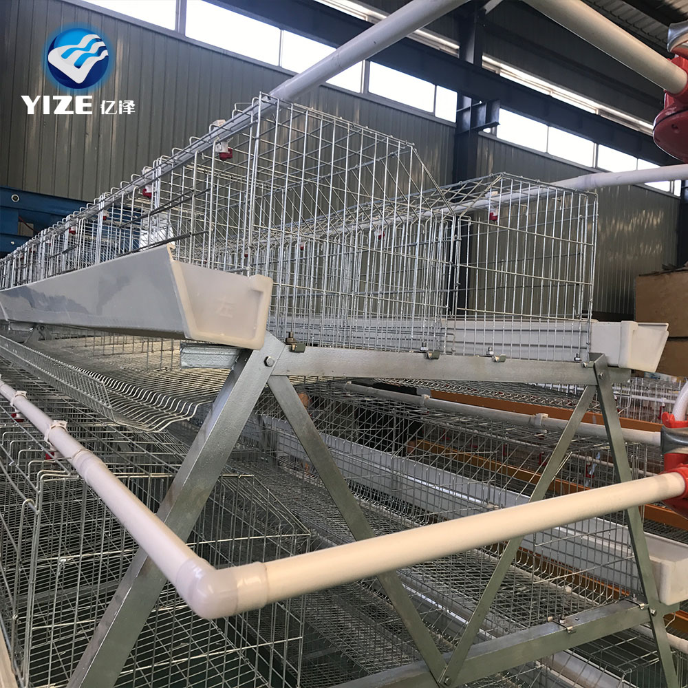 YIZE galvanized poultry feeder/layer chicken cage