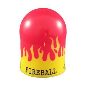 Trailer Hitch Ball Cover-Fireball