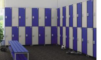 Gym locker room dimensions