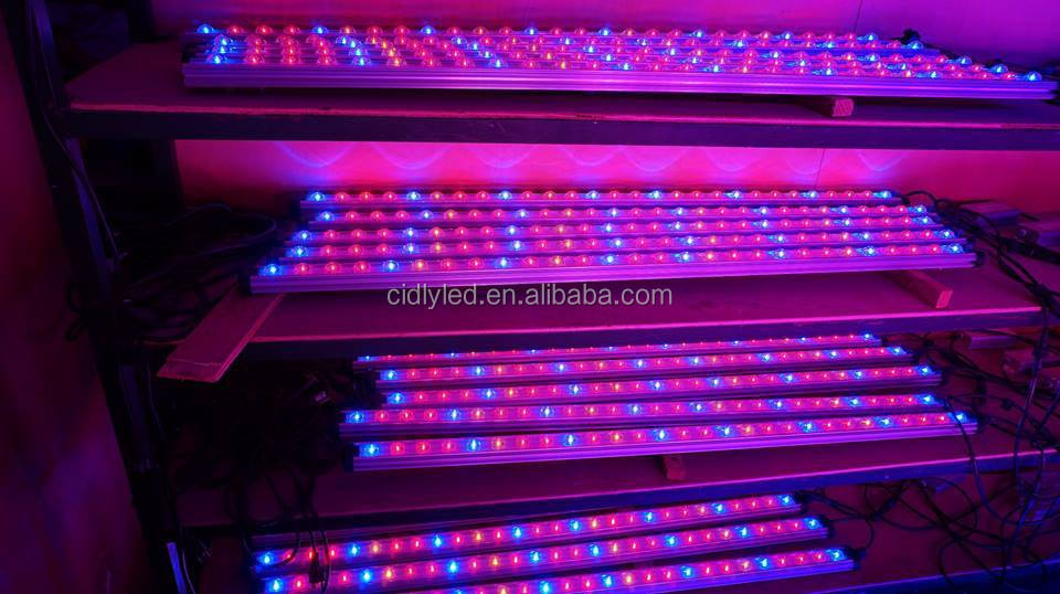 Full Spectrum Led Strip Grow Lights Vertical Garden Systems 90cm ...