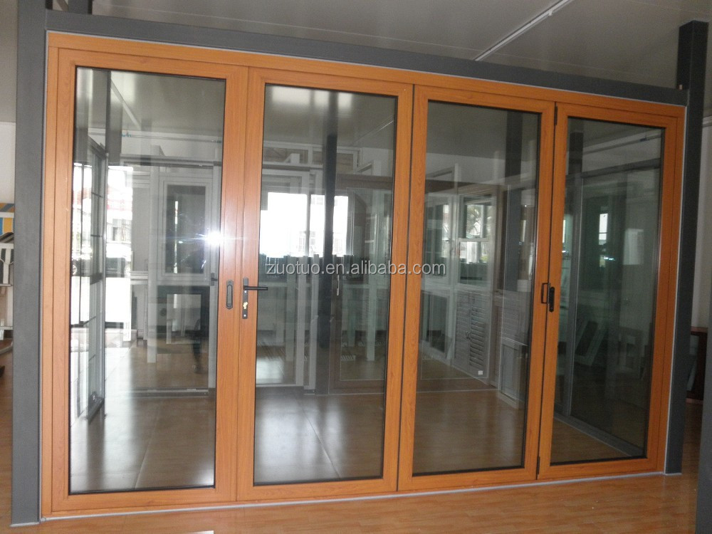 economica più basso vetro alluminio porta pieghevole prezzo-Porta ...