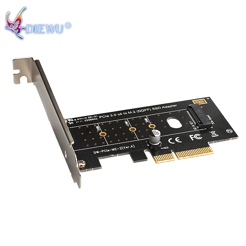 Computer & Office Good M.2 Nvme Ssd Ngff To Pcie X16 Adapter Mkey Port Card Pci-e 3.0 X16 Pci Express Card Full Speed Rgb Led Do You Want To Buy Some Chinese Native Produce?