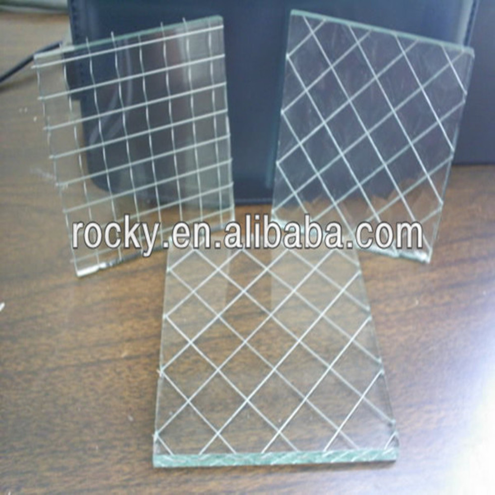 Best Price 6mm 6.5mm 7mm Wire Mesh Security Glass - Buy Wire Mesh ...