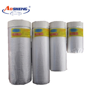 Masking Tape Polyethylene Material Sheeting On Roll