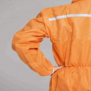 Safety Orange Coveralls Cheap Price Disposable Coverall