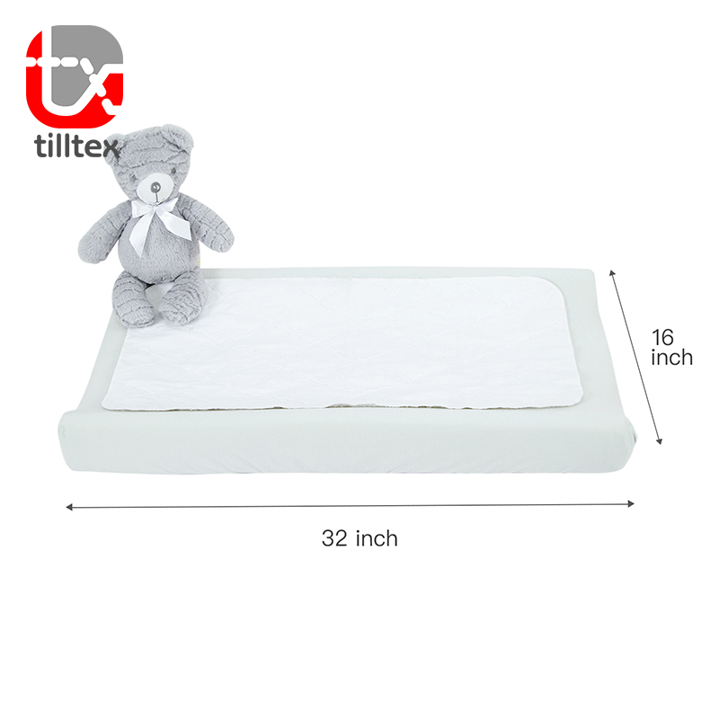 경쟁력있는 Baby 침대 매트리스 protector 변경 pad cover