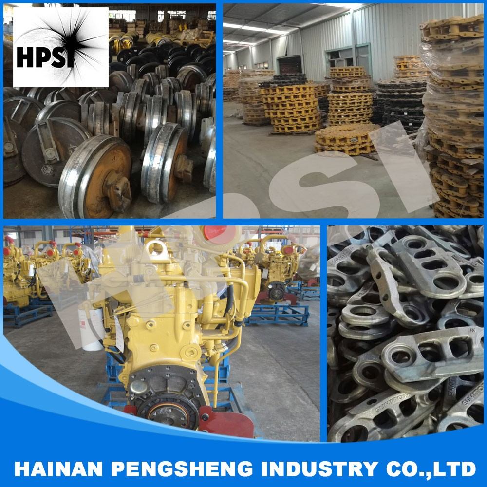 Excavator parts front idler good quality undercarriage parts with competitive price