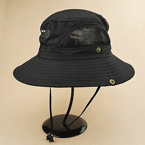 7197cce4f32 Mocase Outdoor Large Round Brim Bucket Hat Quick Drying Men Women Summer  Sun Cap Sun Block