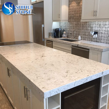 Shs Quartz Kitchen Island Table Top With Competitive Price - Buy Quartz  Kitchen Island Table Top,Kitchen Cabinet Table Top,Quartz Stone Table Top  ...