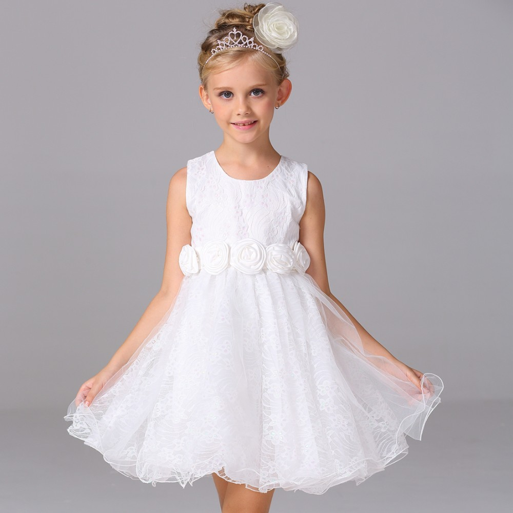 5affb1f85dcaa92 Новая модель платья для девочек детское кружевное платье принцессы летнее  платье для маленьких девочек L-