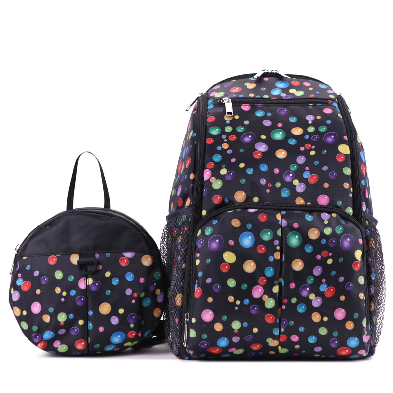 Mummy bag baby care 2 sets of multifunctional anti lost child baby bag organizer mom diaper bag baby changing bag backpack