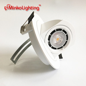 MR16 GU10 Change Angle UGR Aluminum OEM 3W 5W COB Downlight