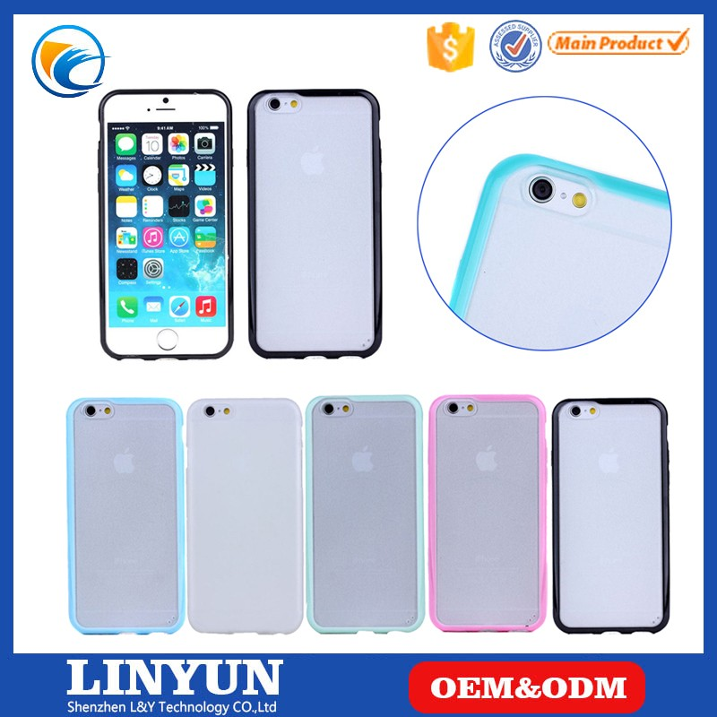 Case for iphone 4/4s/5/5s/se,for iphone 4/4s/5/5s/se 2016 Fashion Low Price Matte PC&TPU Bumper Case