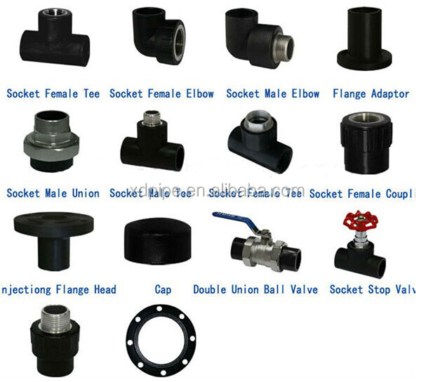Electrofusion Hdpe End Cap Pipe Fitting Plastic Electric