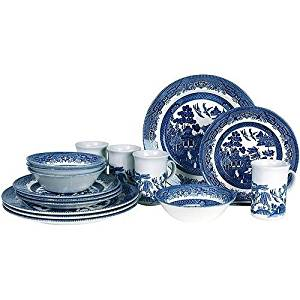 Get Quotations · Blue Willow 16-piece Dinnerware Set. This Elegant Dining Set Includes 4 of Each  sc 1 st  Shopping Guide - Alibaba & Cheap Blue Willow Dinner Set find Blue Willow Dinner Set deals on ...