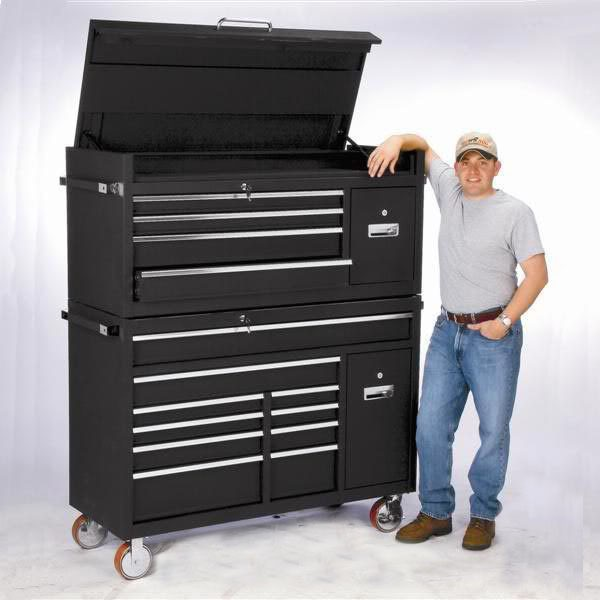 Stainless Steel 72 Inch Cabinet Rolling Tool Chest With