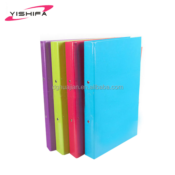 "Office School Stationary A4 Plastic PP File 1"" 3 O-Ring Ring Binder"