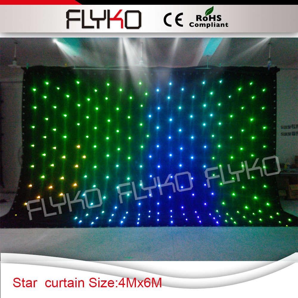 Christmas Decoration Light Curtain Led Starry Light Curtain