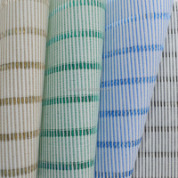 100% polyester fabric for roller blinds ,vertical stripe blinds hard material