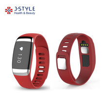 J-style Bluetooth RFID Smart Fitness Tracker Heart Rate Monitor ECG Jogging Calorie Meter Digital Pedometer