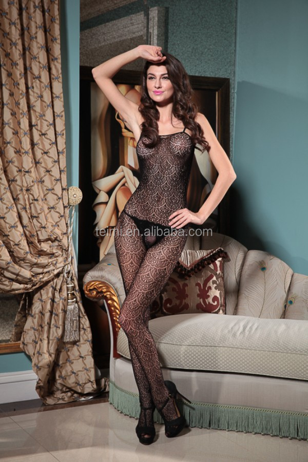 Online Shhopping Sheer Crotchless Bodystocking For Men