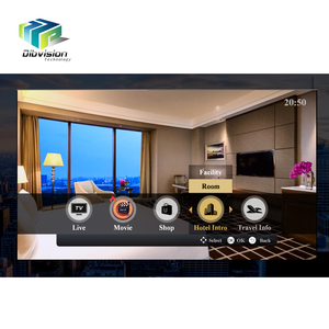 4 star /5 star /chain hotel customizable iptv systems for hotel with encoder IRDs and managed by could