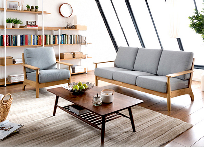 Foshan fabrik direkt nordeuropa holz sofa set japanische for Japanisches wohnzimmer