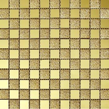 Uberlegen Baustoff Spiegelglas Mischen Folie Glas Gold Mosaik Fliesen Ideen Für  Badezimmer
