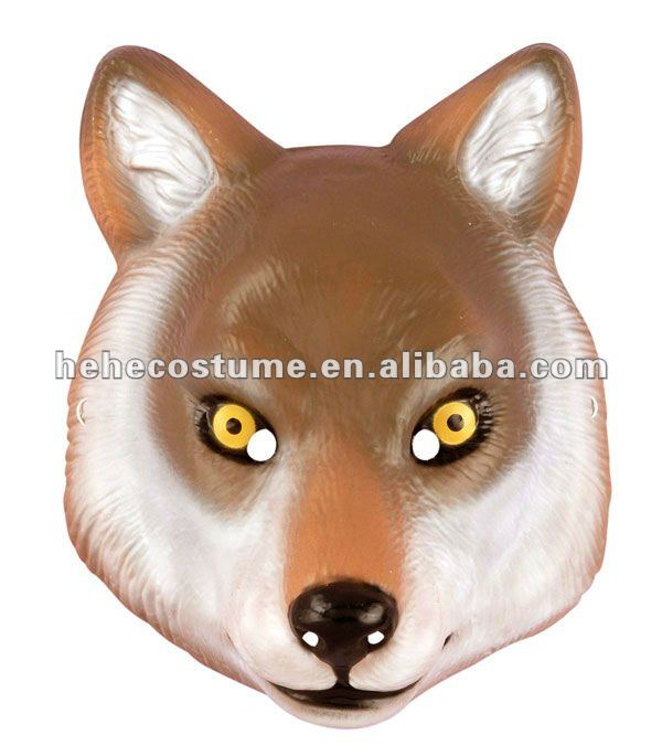 Deluxe Adult Wolf Mask