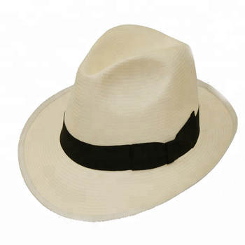 3c9453e4 China Adults Genines Straw Hat Mens Summer Panama Hat With Wider Band New