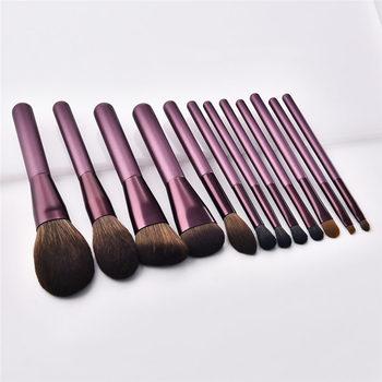 12pcs makeup brushes set concealer eye shadow reals soft