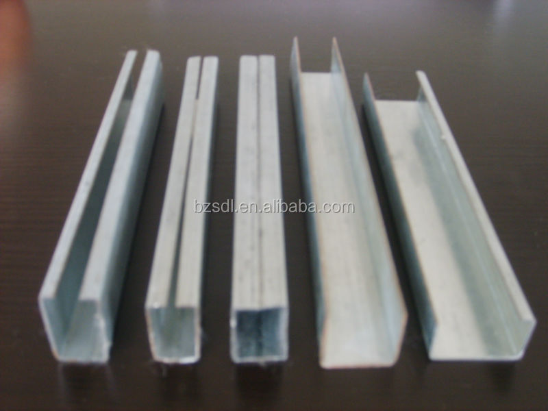 Cold Formed C Profile Galvanized Profile C Shaped Metal